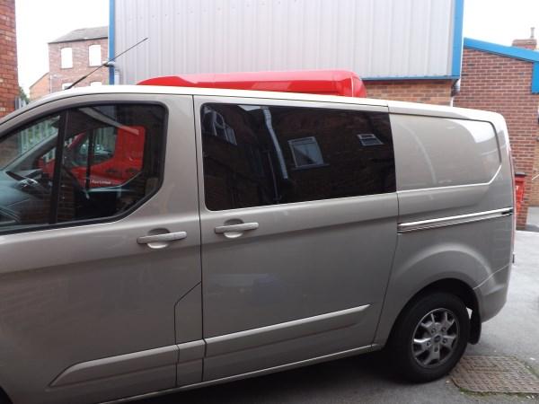 Ford Transit Custom Offside Half Slider Opening Window
