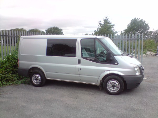 Ford Transit Bonded Side Windows