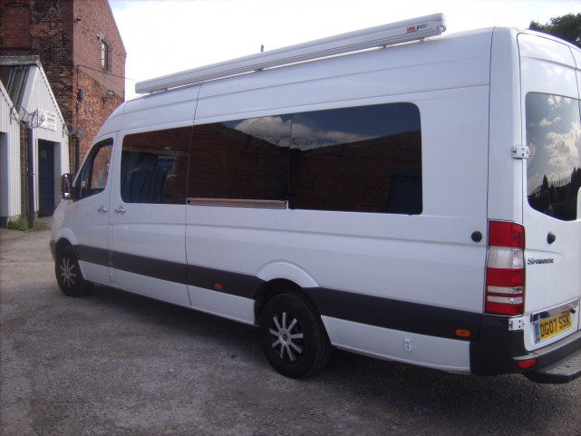 Vw Crafter Lwb 06 Onwards N S Rear Quarter Glass In Privacy