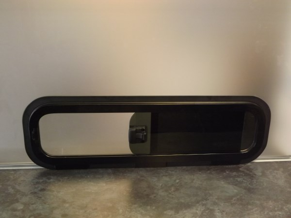 Bonded Universal Vent Window In Privacy Nearside