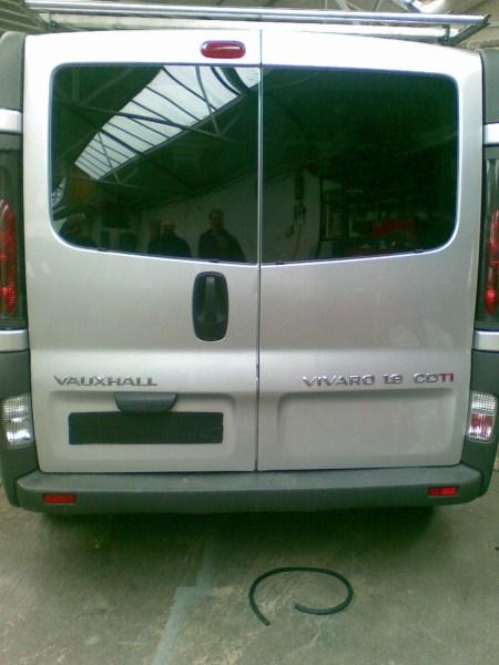 Renault Trafic Swb Pair Of Rear Quarters Amp Rear Door